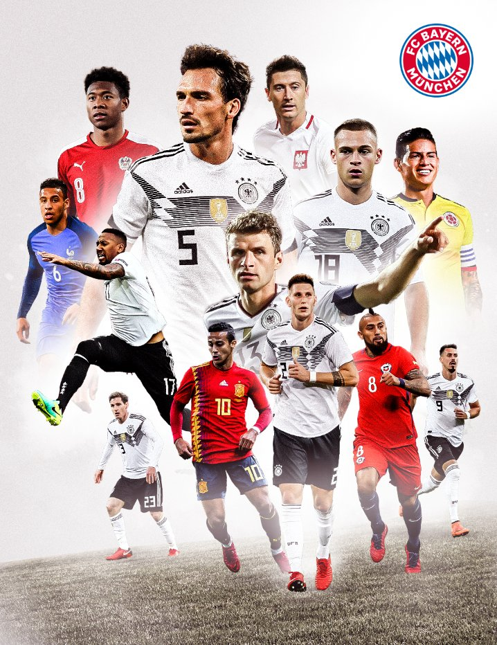 Good luck on international duty, boys! 🔴...