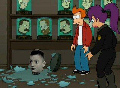 Futurama predijo lo que pasaría en Argen...