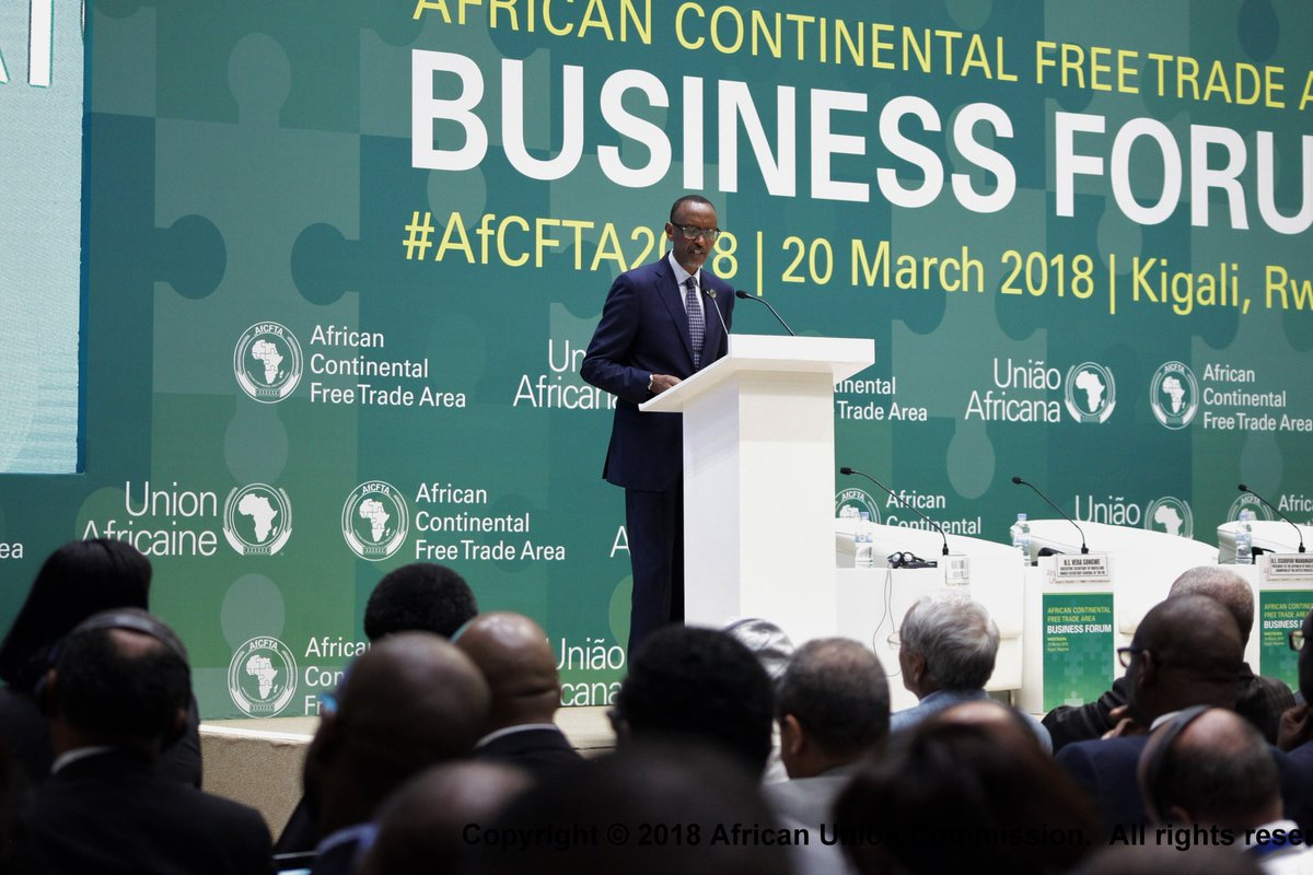 Image result for AFRICAN CONTINENTAL FREE TRADE AREA (AfCFTA2018)