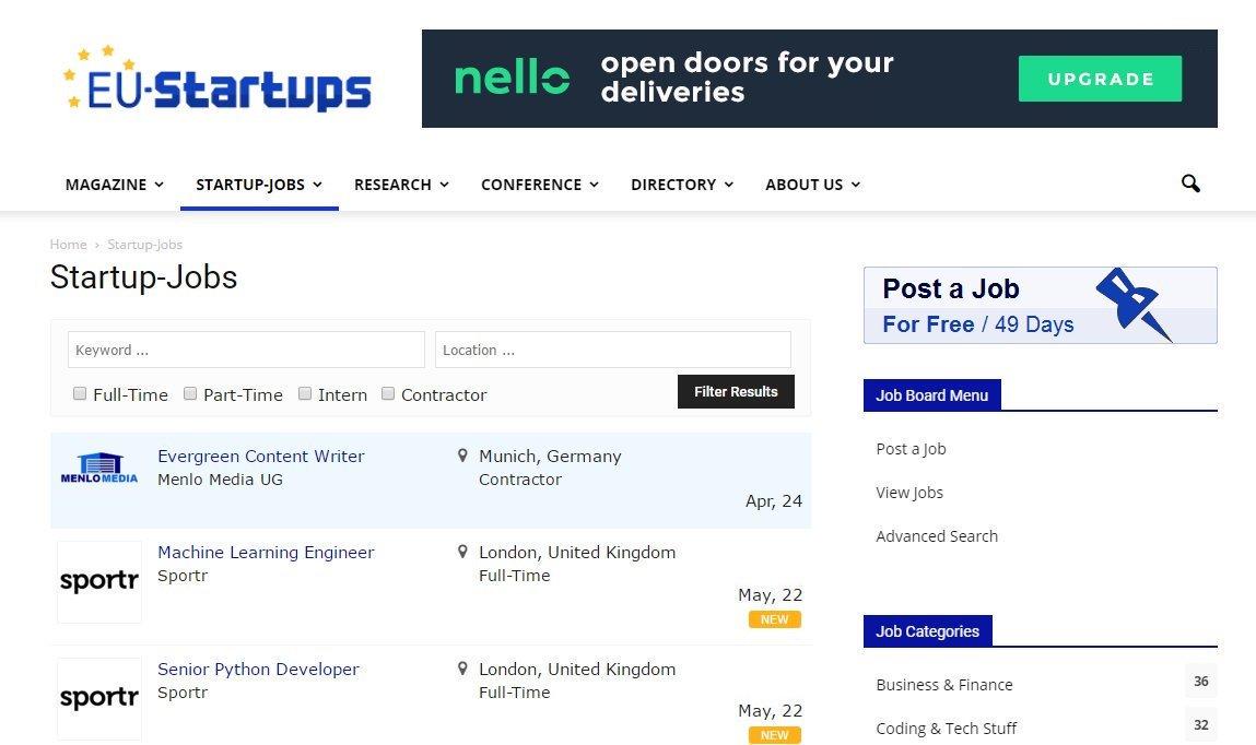 EU-Startups's photo on Startups
