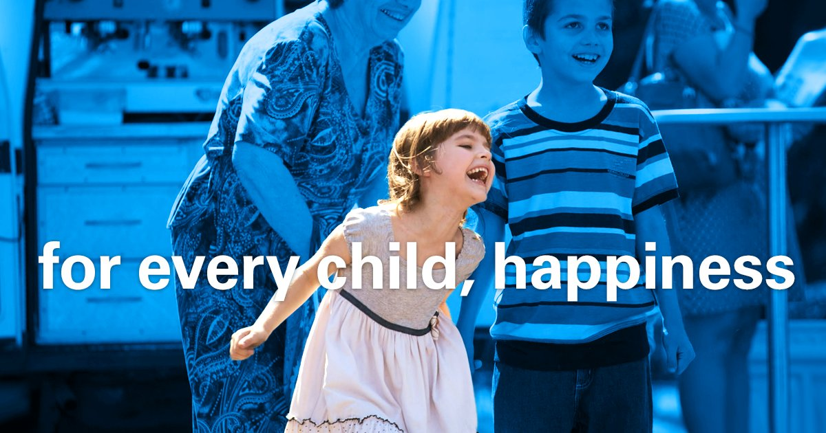 #ForEveryChild - a reason to laugh!💙 #ForEveryChild - happiness! 💛  #InternationalDayOfHappiness