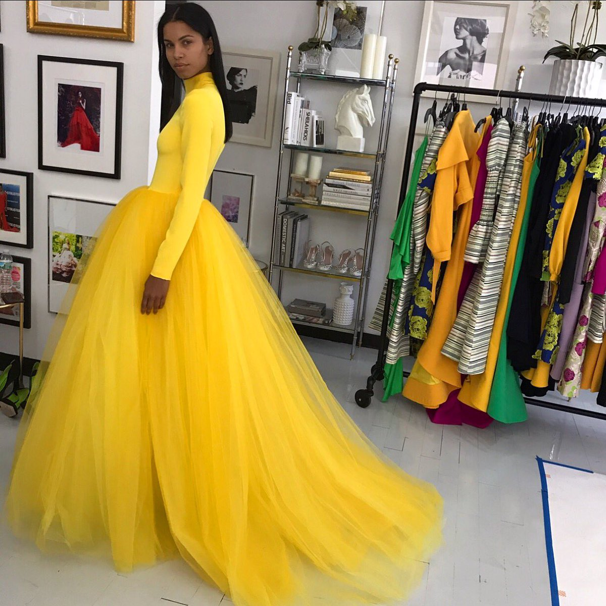 Siriano On Twitter Is It Spring Yet Glamour