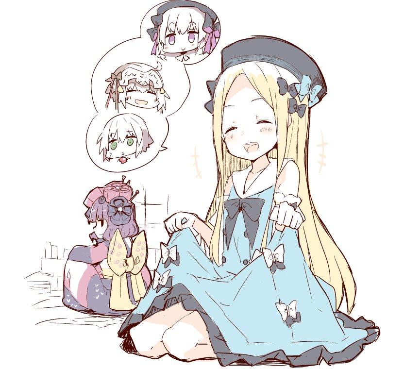 AnimeJapanグッズ絵のアビーらくがき #アビ北