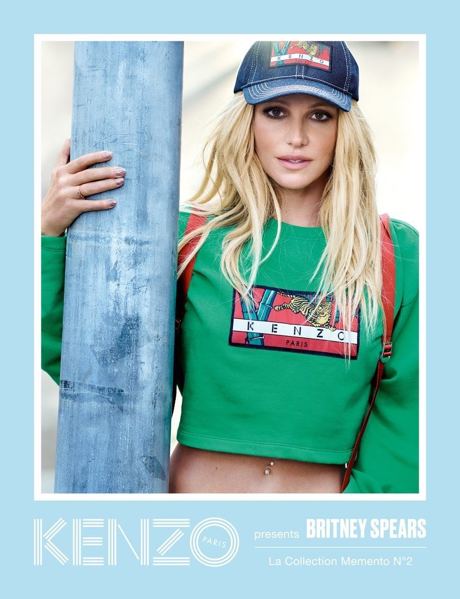 Britney Spears unveiled as the new face...