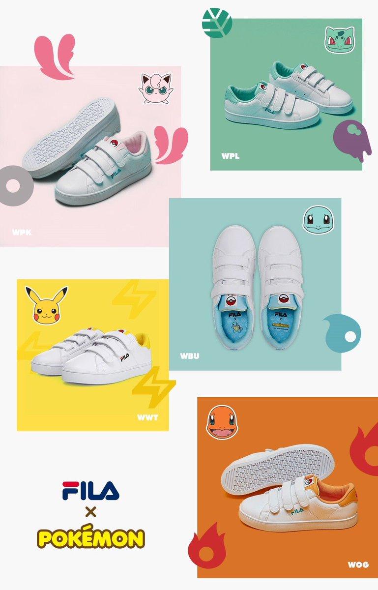 fila pokemon shoes philippines