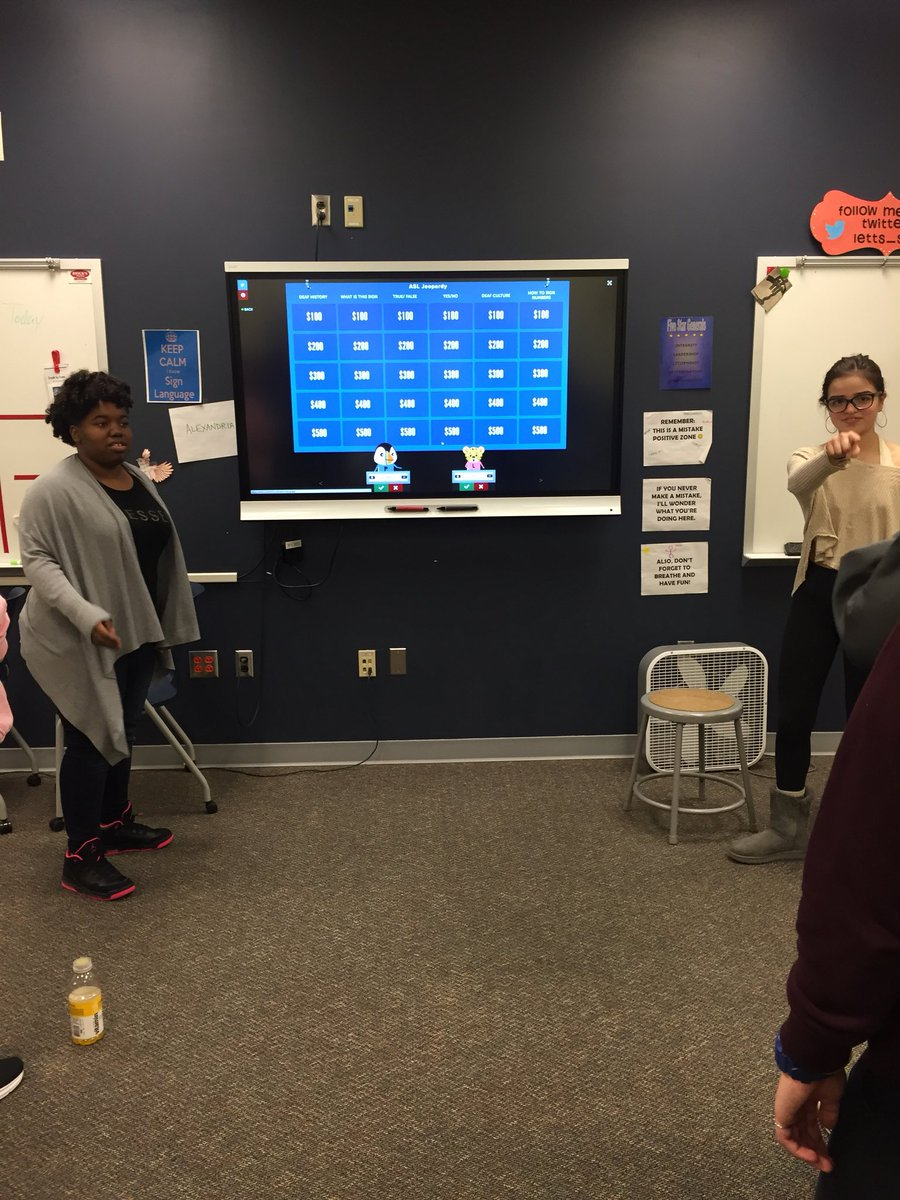 RT <a target='_blank' href='http://twitter.com/Letts_Sign'>@Letts_Sign</a>: ASL 2 students did a great job on their projects! <a target='_blank' href='http://search.twitter.com/search?q=GameProject'><a target='_blank' href='https://twitter.com/hashtag/GameProject?src=hash'>#GameProject</a></a> <a target='_blank' href='http://search.twitter.com/search?q=EngageAPS'><a target='_blank' href='https://twitter.com/hashtag/EngageAPS?src=hash'>#EngageAPS</a></a> <a target='_blank' href='http://search.twitter.com/search?q=GeneralsLead'><a target='_blank' href='https://twitter.com/hashtag/GeneralsLead?src=hash'>#GeneralsLead</a></a> <a target='_blank' href='https://t.co/RDCwKhpdN8'>https://t.co/RDCwKhpdN8</a>