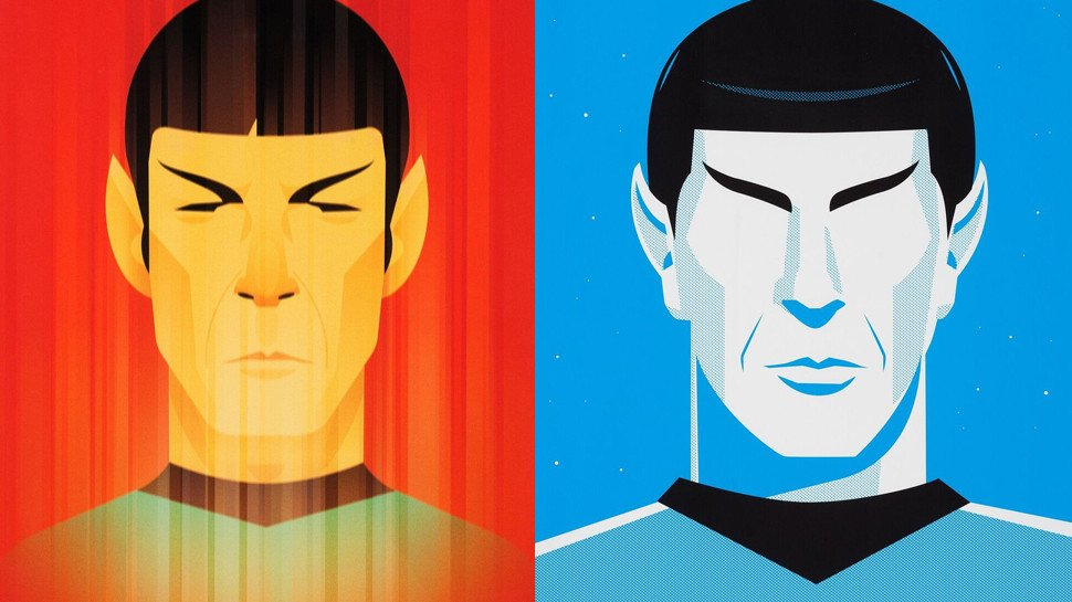 Iconic #StarTrek art is going up for auc...