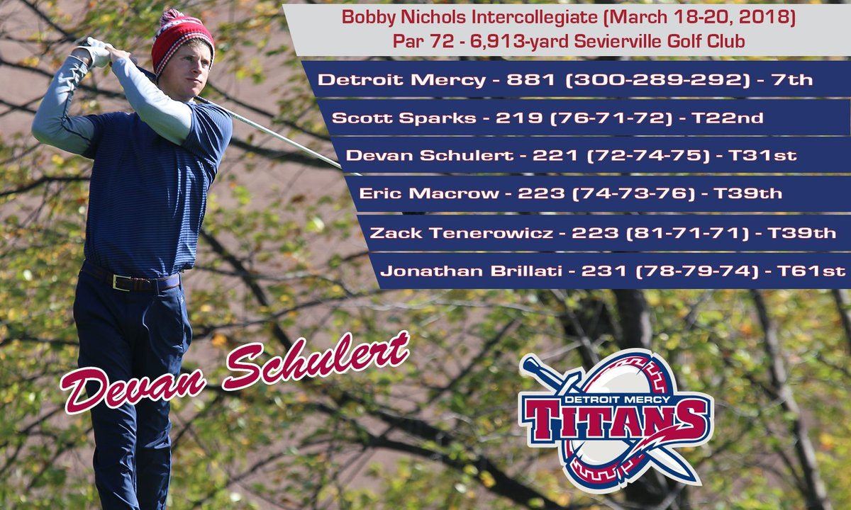 Titans Finish Strong At Bobby Nichols In...