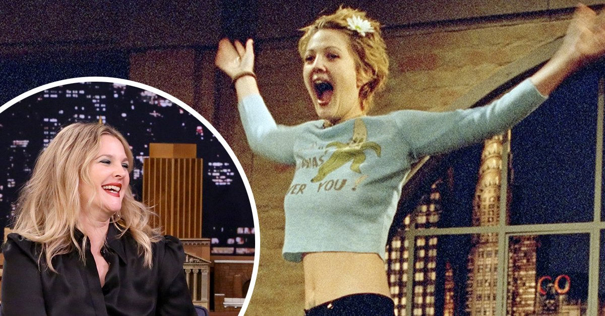 #DrewBarrymore has come a LONG way from her wild child days in the 90's 😂 Remember when she flashed David Letterman? https://t.co/zOCAQ6rMuX