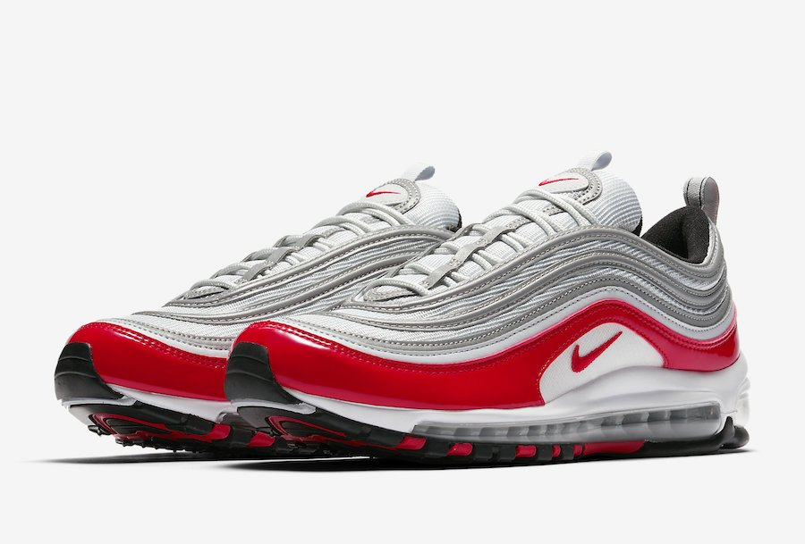 aa8e161ee0d  FirstLook Nike Air Max 97  Metallic Silver Red   SneakerScoutspic.twitter .com FrNsQXpWC4