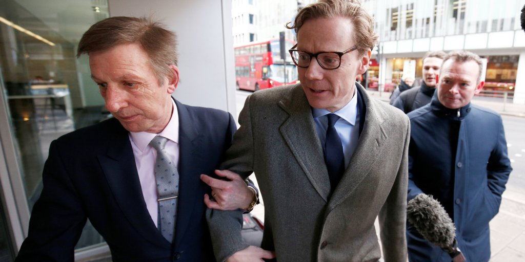 Cambridge Analytica bosses were secretly filmed boasting about how they won Trump the US election https://t.co/Csk8krDjV6