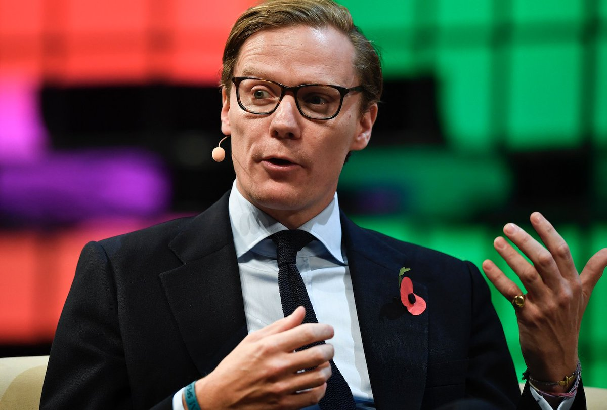 BREAKING: Cambridge Analytica, the data firm at the center of the Facebook controversy, has suspended its CEO Alexander Nix https://t.co/ojTF6JBk5e