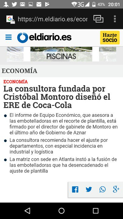 @MVTARDE @GonBernardos Montoro hizo #ERE #CoCaCola Fruto Reforma Laboral @cocacolaenlucha