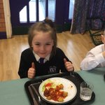 Enjoying our delicious Spanish lunch! Thank you to our wonderful cooks. @NWATrust @CllrMikeBaynham @winsfordnews