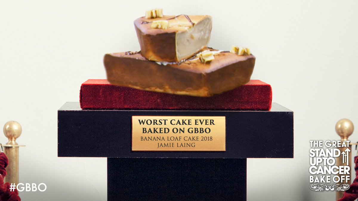 Is it a pork pie? Is it a banana cake? Whatever it is, it's officially The Worst Cake Ever!  #GBBO