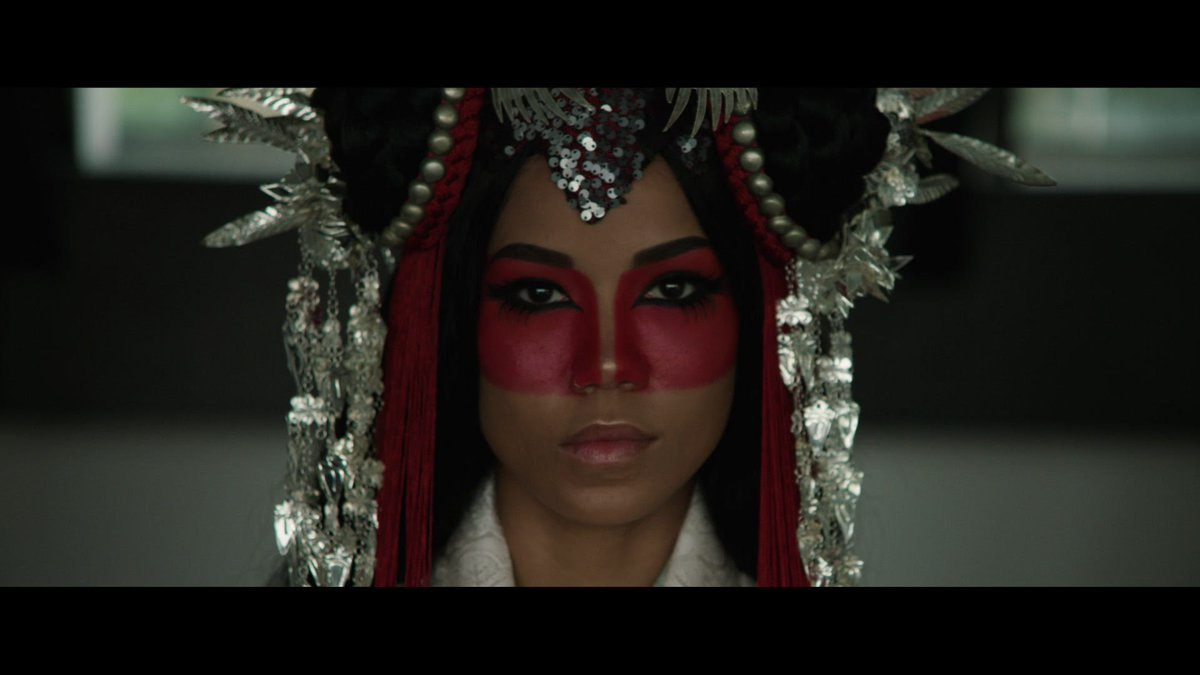 """Jhene Aiko Premieres Two Versions Of The Video For """"Never Call Me"""" https://t.co/vHl94bH8uB"""