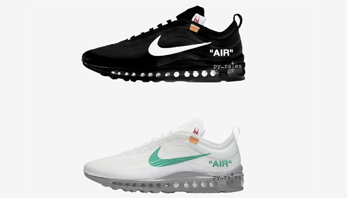 d49db0d58314 ... what could be two new colourways of Virgil Abloh s take on the Nike Air  Max 97. http   kicksdeals.ca news 2018 off-white-x-nike-air-max-97-release-fall   ...