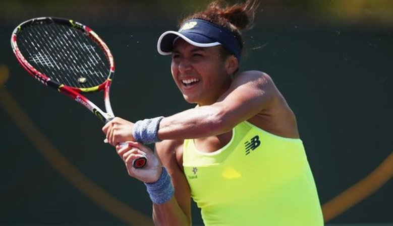 Britain's Heather Watson has been knocked out of the Miami Open in the first round.   More: https://t.co/wzomPf4Bwv
