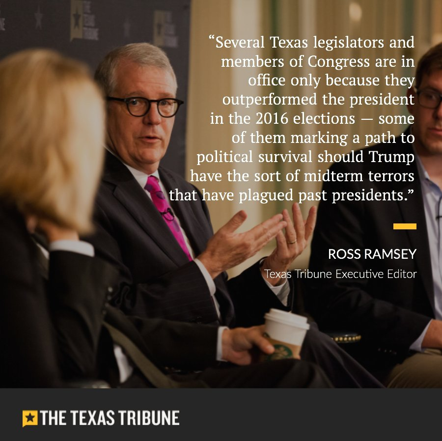 This year's elections raise the question anew: If Donald Trump has a mediocre midterm election, what will it take for a Republican candidate in Texas to win? #txlege #tx2018 https://t.co/ETTayqxaJu