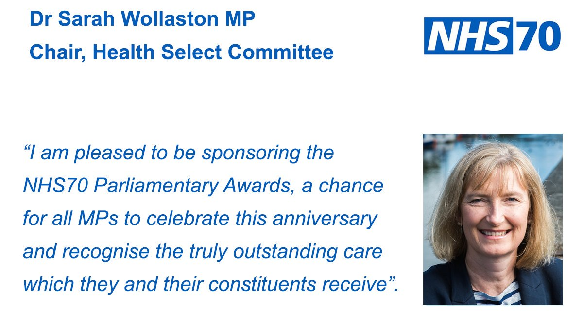 Have you got your nominations in for the #NHS70 Parliamentary Awards yet?  Not nominated yet? Time is running out to get them to your MP so hurry.  Find out how here: https://t.co/bdCPyHEZmf
