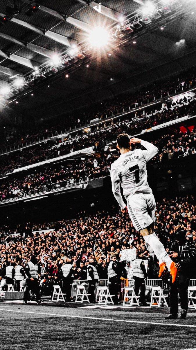 Jdesign On Twitter Real Madrid Cristiano Ronaldo Lock Screen Wallpaper