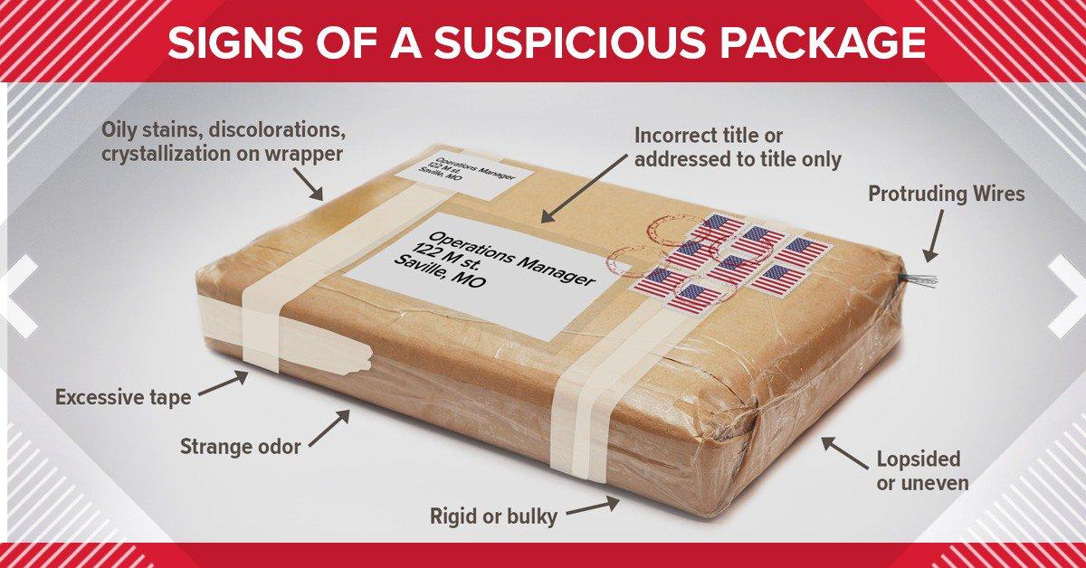 USPS spot suspicious package | KHOU 11 News Houston | Scoopnest