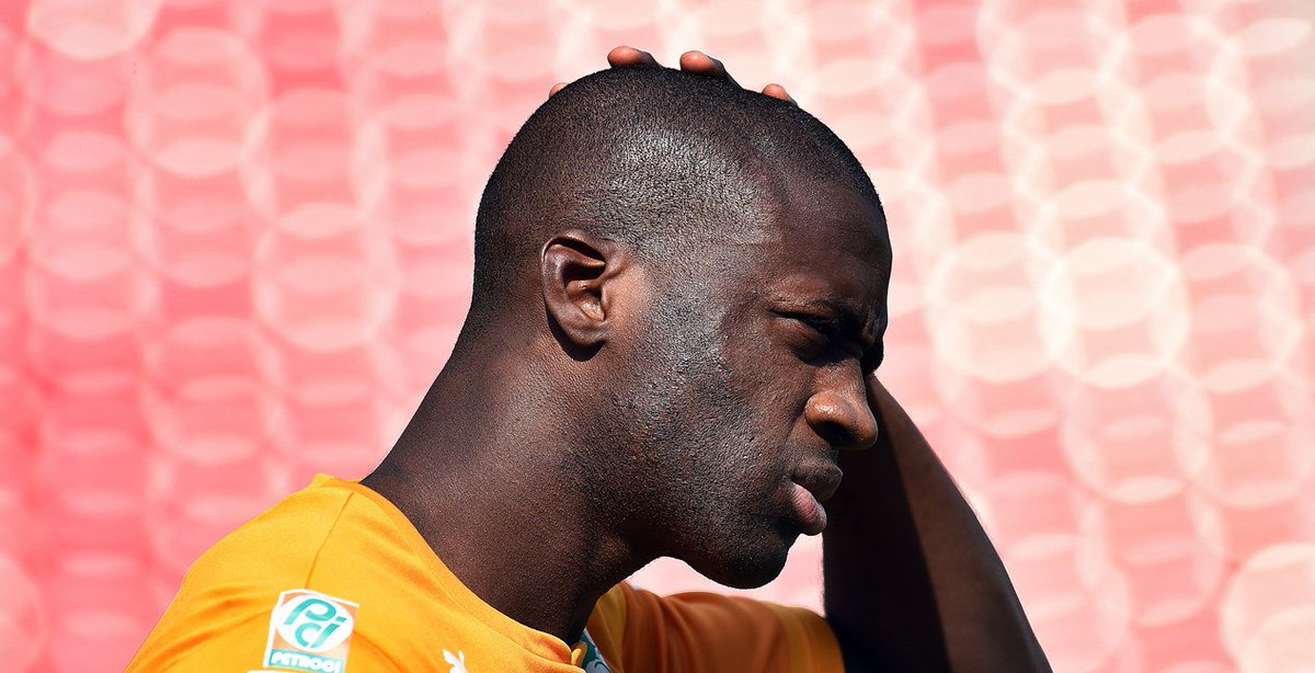 Friday - Yaya Touré named in the Ivory Coast squad after a three year absence.  Tuesday - Fails to join up with the squad in France for training.  Yaya doing Yaya things.