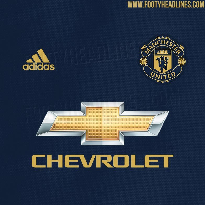 Man Utd's Beautiful Blue and Gold 3rd Ki...