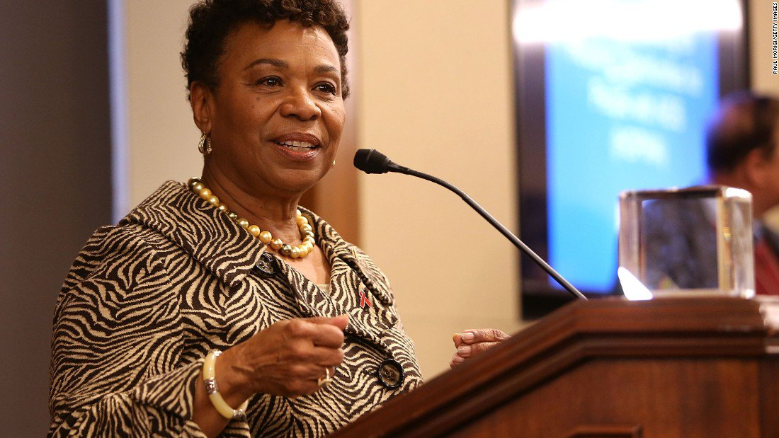 Democratic Rep. Barbara Lee to Education Secretary Betsy DeVos: Your 'head is in the sand' on race issues in schools https://t.co/rMBKUuJ7Dn
