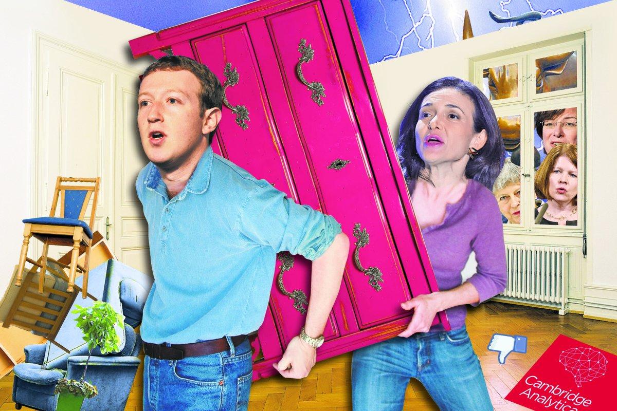 Zuckerberg and Sandberg silent amid Facebook scandal https://t.co/cj0iup3B5C