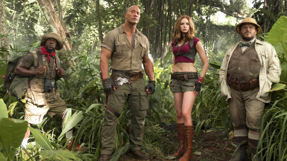 #Jumanji: Welcome to the Jungle is out now in the US on Blu-ray and DVD! See what we thought of it right here https://t.co/HZK085NJGv