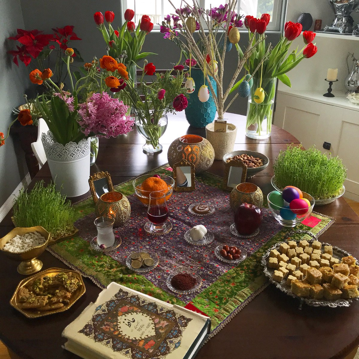 haft seen table zoom background