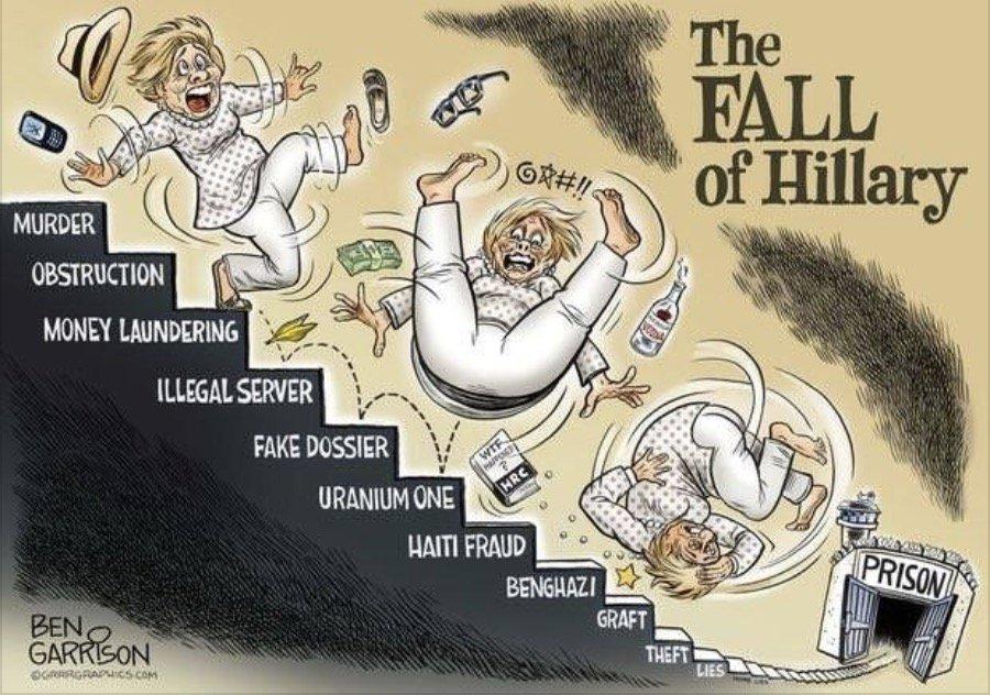 #FallOfHillary #HillaryForPrison #LockHe...