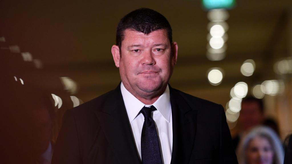 James Packer quits Crown Resorts board o...