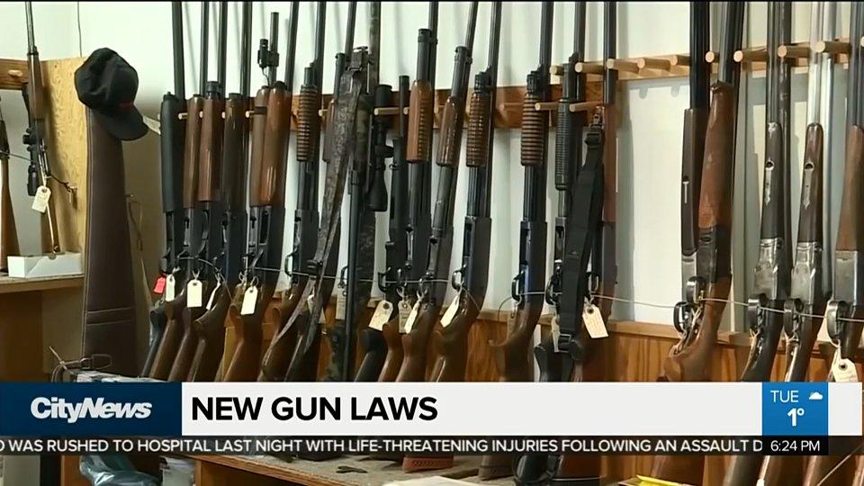 Federal government tables new gun control legislation. WATCH: https://t.co/nQMJPP4ToI