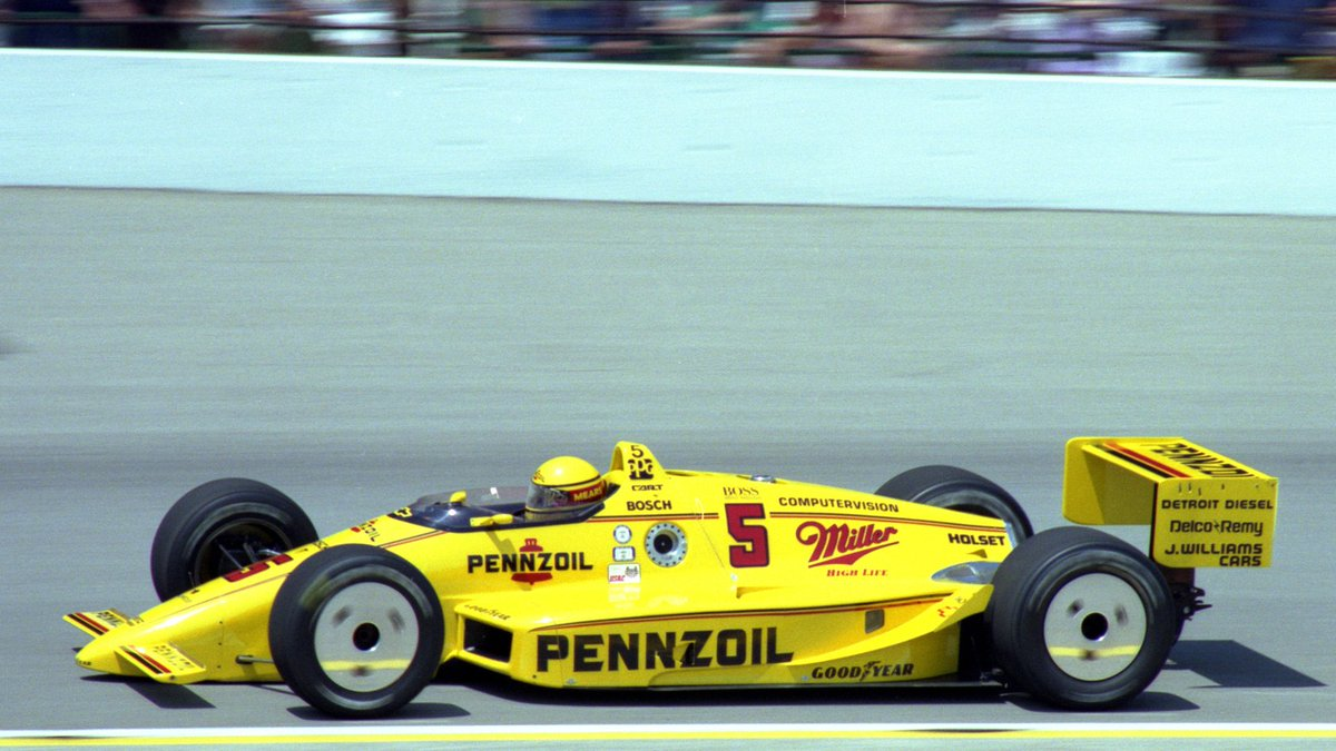 I miss cool looking wheels on IndyCars....