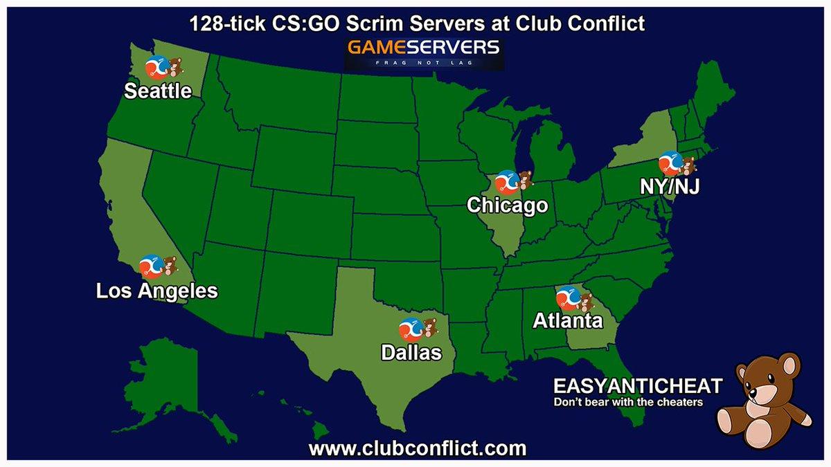 csgo 128 tick servers
