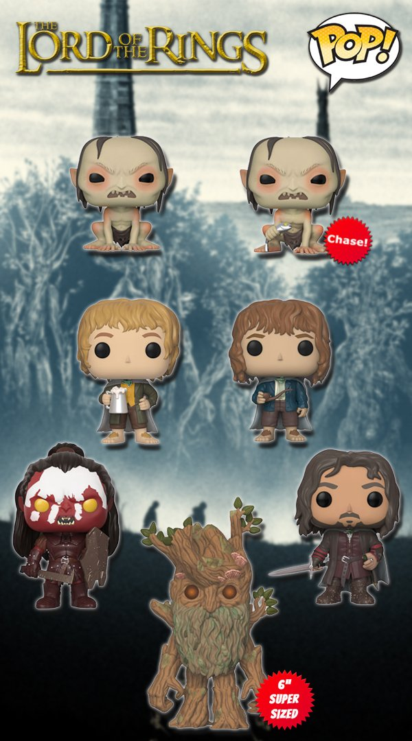 Lord of the Rings Series 2 Funko Pop! ht...