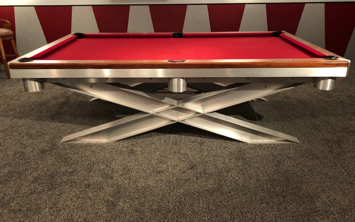Jay McKee On Twitter Selling My Custom Made And Newly Refelted - Cost to have pool table refelted