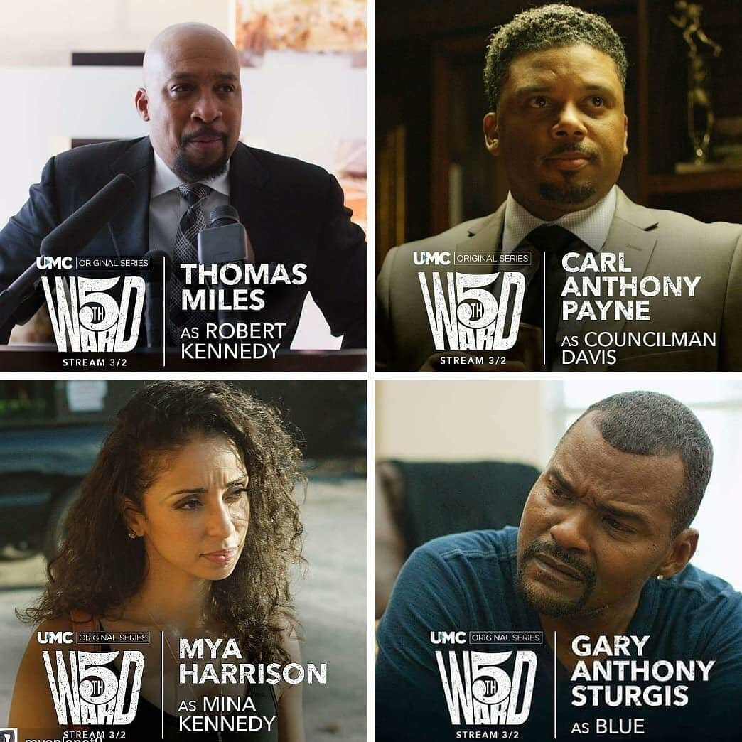 The new drama series #FifthWard (Episode 3) is avail. NOW on #UMC (Urban Movie Channel)!!! See Mýa play Mina - a single mother & long time resident of the  ! S#5thWardtream it TODAY at  or https://t.co/e2zIu4mYHGthe  app!