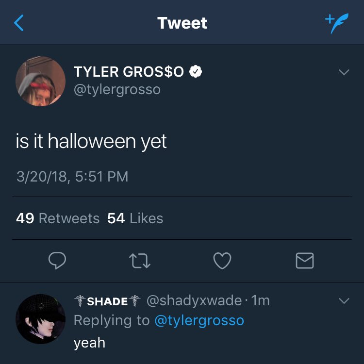 @tylergrosso we're connected