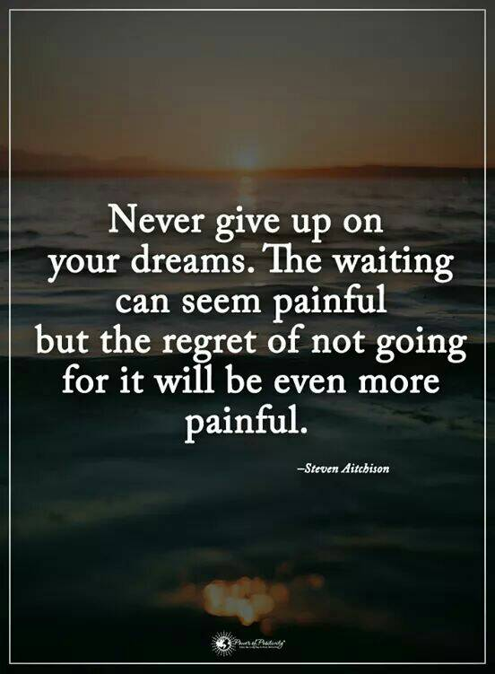 Never give up on your #dreams. https://t...