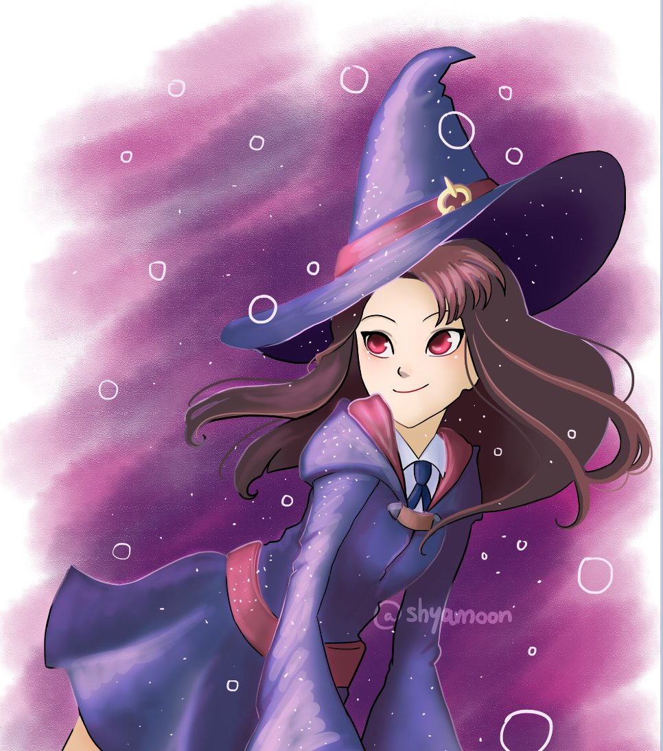 Little Witch Academia, quick fanart <...