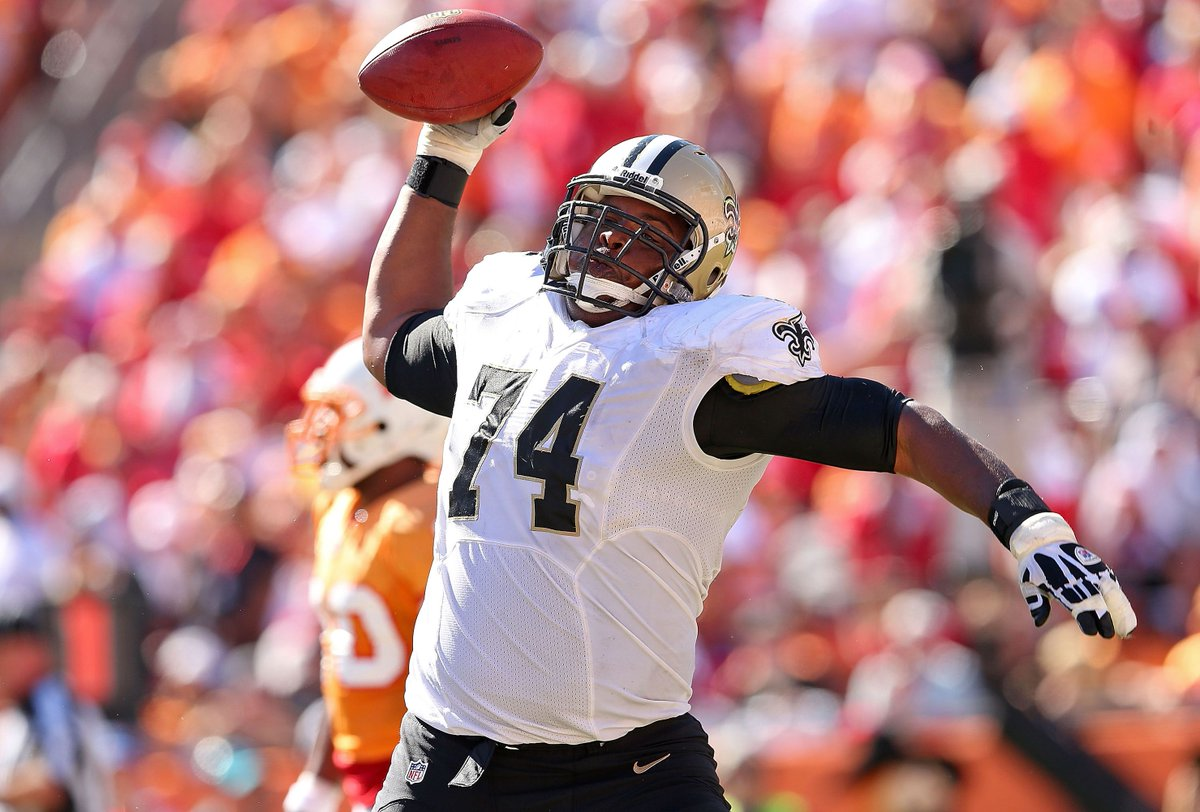 Saints Officially Welcome Back OL Jermon...