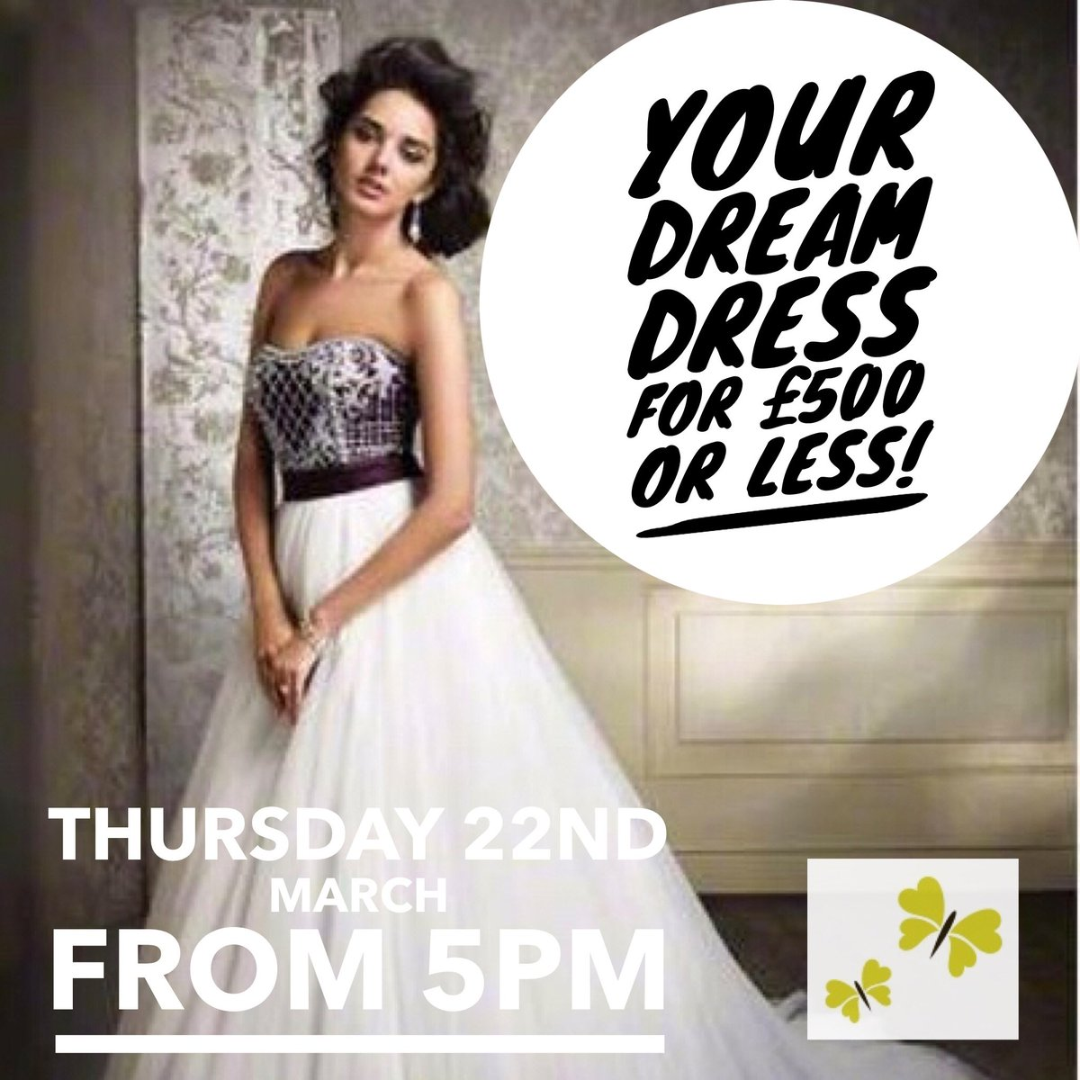 All Sale Dresses Will Be GBP500 Or Less Doors Open At 5pm Designer Wedding And Bridesmaids Weddingdresssale Plymouth Devon Amicabridalboutique