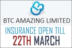 Image for BTC AMAZING Insurance Open!