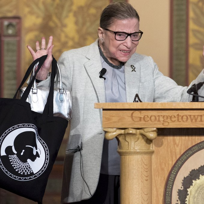 Happy birthday, RBG! Supreme Court Justice Ruth Bader Ginsburg turns 85 today. S... -