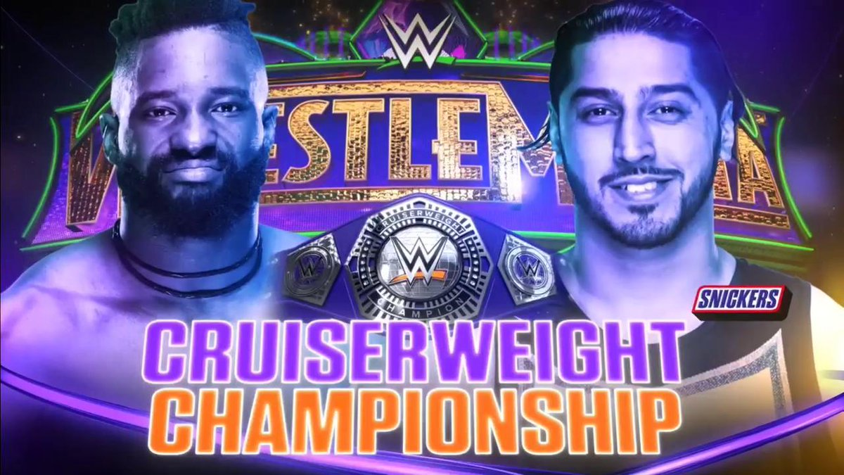 wrestlemania 34 - DYyAtdLVQAETFET - Wrestlemania 34 Poster, Matches, Predictions, location, Date, Time