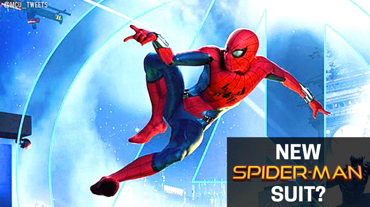 Suit Shown In Yesterdays Marvel Disneyland Poster Will Be The New MCU Spider Man Design Post AvengersInfinityWar Tco 4qqCAAe6Go