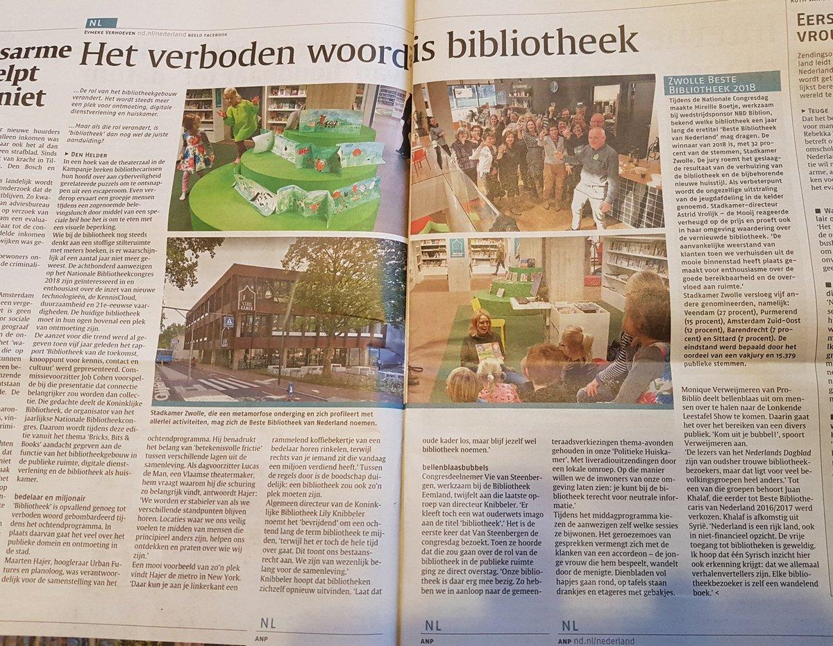 RT @RoelZuidhof: Mooie aandacht @biebcongres  #denhelder #biebcongres in Nederlands Dagblad @ndnl https://t.co/k8S2QMkRRM